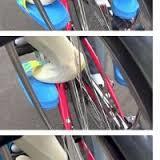 自転車後ろに幼児、足の巻き込み多発 「荷台に座席を」